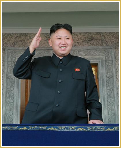 Projev maršála Kim Čong Una na přehlídce 10. 10. 2015