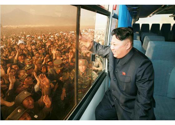 Kim Čong Un navštívil novopostavenú dedinu ako z rozprávky socializmu