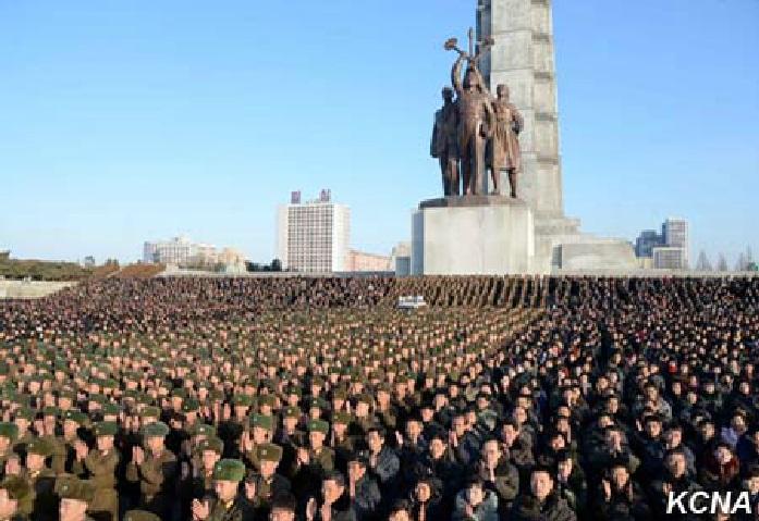 Úspěšný test vodíkové bomby KLDR oslaven Pchjongjangžany a vojáky