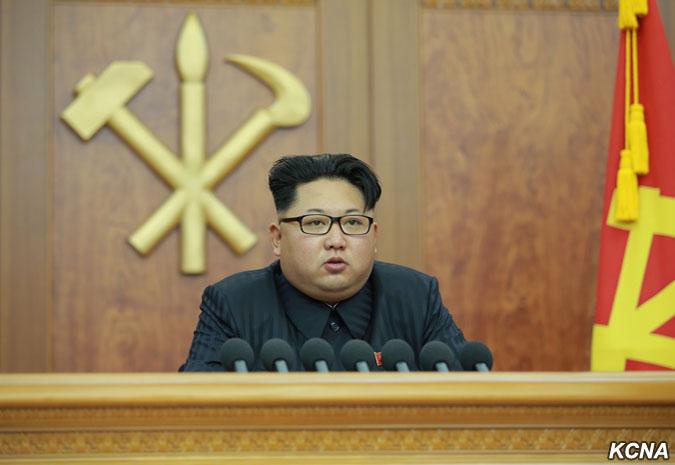 Z novoročního projevu maršála Kim Čong Una