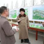Kim Čong Un vyhlásil výstavbu ulice Rjomjong