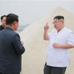 Kim Čong Un navštívil solivárnu Kwisong