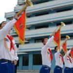 Mezinárodní dětský tábor Songdowon přivítal nové táborníky