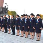 Vítězné fotbalistky přivítány v Pchjongjangu