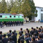 Funkcionári a členovia GFTUK predstavili elektrickú lokomotívu