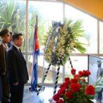 Smuteční delegace KLDR na Kubě