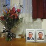 Shromáždění v Praze k 5. výročí úmrtí Kim Čong Ila