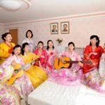 Nová ubytovna pchjongjangské přádelny hedvábí