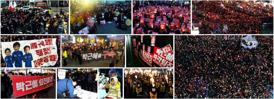 demonstracia-juzna-korea