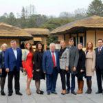 Ruská delegácia navštívila Mangjongde