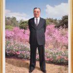 Veľký vodca súdruh Kim Ir Sen je večné slnko ľudstva