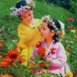 Zábava v KĽDR: Girlandová hra