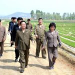 Čche Rjong He navštívil družstvo Wonhwa