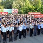 Pracující KLDR se zavazují prohloubit třídní uvědomění a pomstít se imperialistům