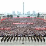 Masová shromáždění ke Dni boje proti imperialismu USA