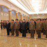 Kim Čong Un navštívil Palác Slnka Kumsusan