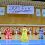 Spoločné priateľské stretnutie v rámci 5. medzinárodného festivalu na chválu veľkých osôb hory Pektu