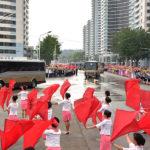 Vítání tvůrců vodíkové bomby a armádně-lidové shromáždění v Pchjongjangu