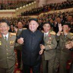 Banket a umělecké představení pro jaderné vědce a techniky v přítomnosti Kim Čong Una