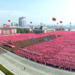 Masové oslavy 20. výročí zvolení Kim Čong Ila generálním tajemníkem KSP