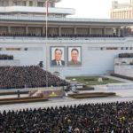 Oslavy odpálení rakety Hwasong-15 po celé zemi