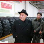 Súdruh Kim Čong Un navštívil továreň na pneumatiky Amnokgang