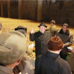 Kim Čong Un zkontroloval novou továrnu na bramborovou mouku