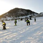 Otevřeno lyžařské středisko Kanggje