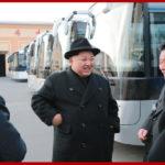 Kim Čong Un navštívil Pchjongjangský trolejbusový závod