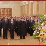 Kim Čong Un navštívil Kumsusanský palác slunce na počest Dne zářící hvězdy