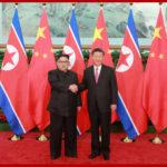 Soudruh Kim Čong Un se znovu setkal se soudruhem Si Ťin-pchingem