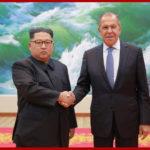 Vážený najvyšší vodca súdruh Kim Čong Un sa stretol s ruským ministrom zahraničných vecí