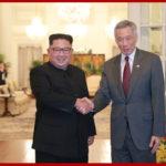 Soudruh Kim Čong Un se setkal se singapurským předsedou vlády a prohlédl si Singapur