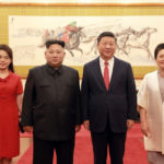 Druhý den návštěvy soudruha Kim Čong Una v Číně a návrat do vlasti