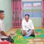 Soudruh Kim Čong Un zkontroloval Lesní školku provincie Kangwon