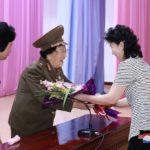 Stretnutie vojnovej veteránky s funkcionárkami zväzu žien