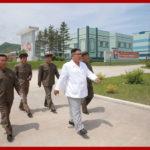 Soudruh Kim Čong Un poskytl polní pokyny v provincii Severní Hamgjong