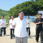 Soudruh Kim Čong Un navštívil sádky jezera Jonpchung