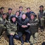 Soudruh Kim Čong Un vedl na místě práci okresu Samčijon
