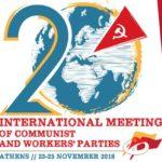 Projev vedoucího delegace Korejské strany práce na 20.mezinárodním setkání komunistických a dělnických stran