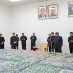 Soudruh Kim Čong Un vedl generální plán pro výstavbu města Sinuidžu