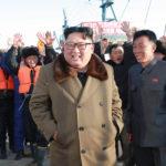 Soudruh Kim Čong Un vedl práci rybářských stanic na východním pobřeží