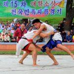 Korejský národní zápas ssirum zapsán jako světové kulturní dědictví