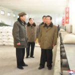 Súdruh Čche Rjong He skontroloval Vinalonový závod 8. februára a závod na výrobu hnojív Hungnam