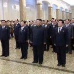 Soudruh KIM ČONG UN navštívil Palác slunce Kumsusan upříležitosti Dne zářící hvězdy