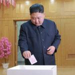 Soudruh KIM ČONG UN se zúčastnil voleb poslanců Nejvyššího lidového shromáždění