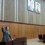 Projev 1. místopředsedy Společnosti česko-korejského přátelství Pektusan vPchjongjangu