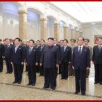 Vážený najvyšší vodca súdruh KIMČONGUN navštívil Palác slnka Kumsusan