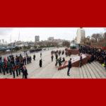 Ďalší deň návštevy váženého najvyššieho vodcu súdruha KIMČONGUNA v Rusku a jeho návrat domov