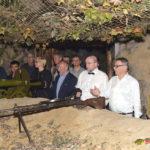 Česká parlamentní delegace navštívila různá místa Pchjongjangu